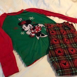 Disney Xmas pajamas